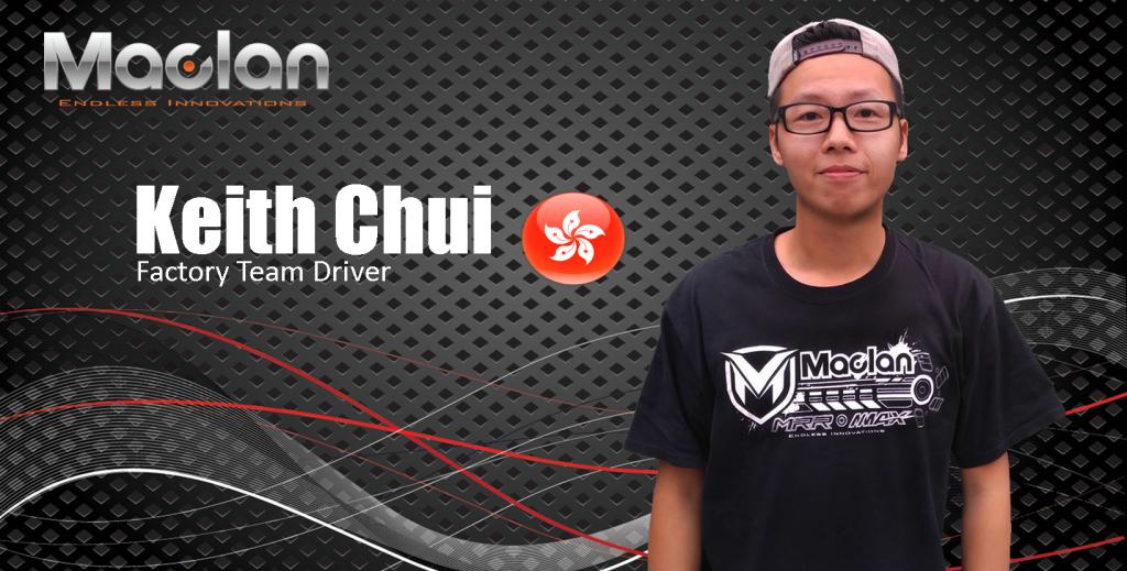 Team Driver Keith Chui