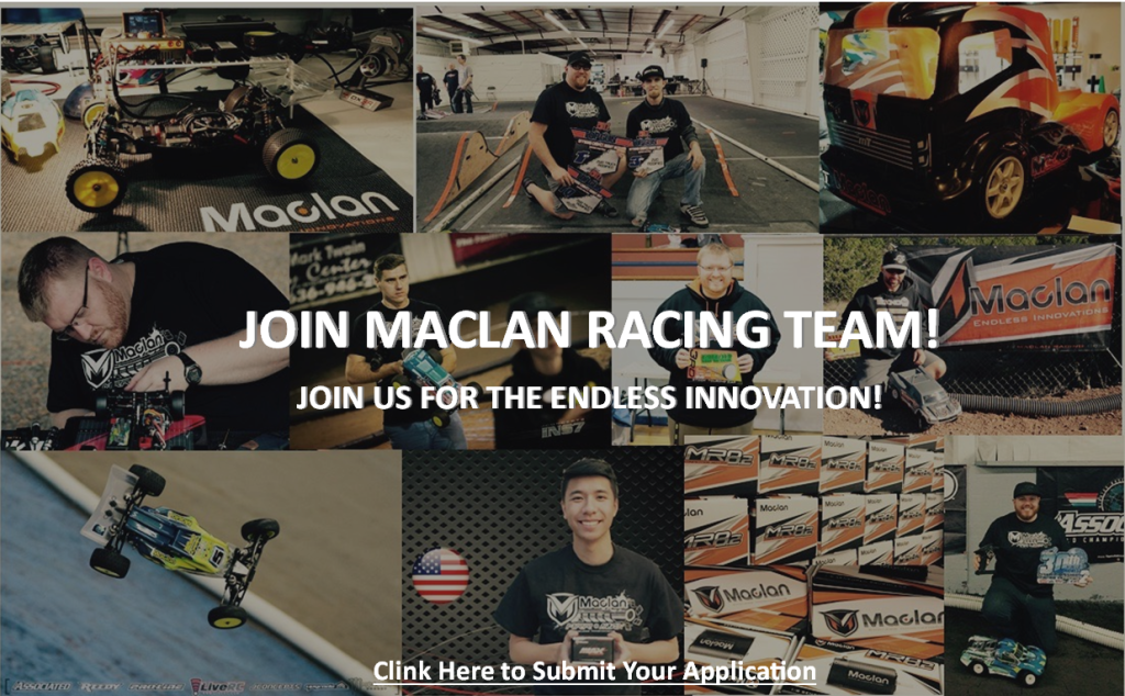 Join team Maclan Racing